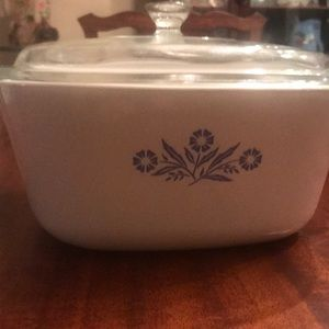 Vintage Cornflower Blue Corningware